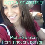 photos used by female scammers